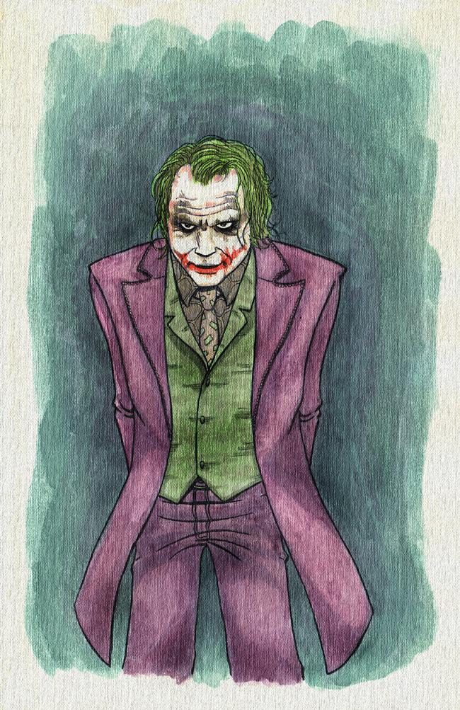 The Joker by R-Edward