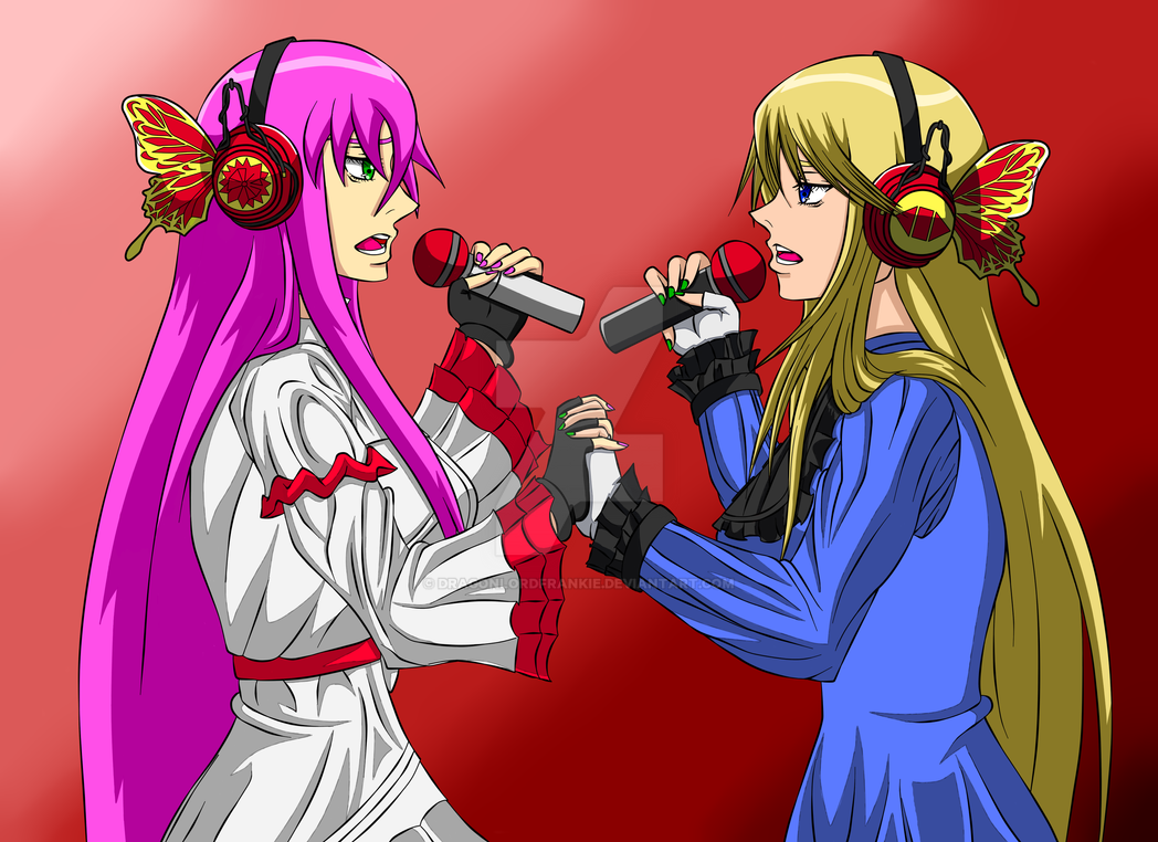 Hikira and Dixie MAGNET by DragonLordFrankie