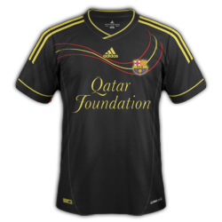 Barcelona Away Fantasy Kit by redwing17