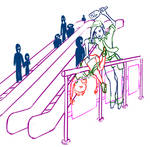 Mall spanking sketch