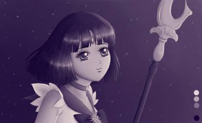 Sailor Saturn Palette