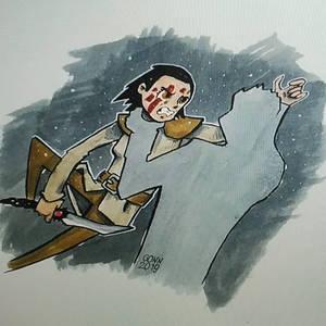 Arya Stark kills the Night King
