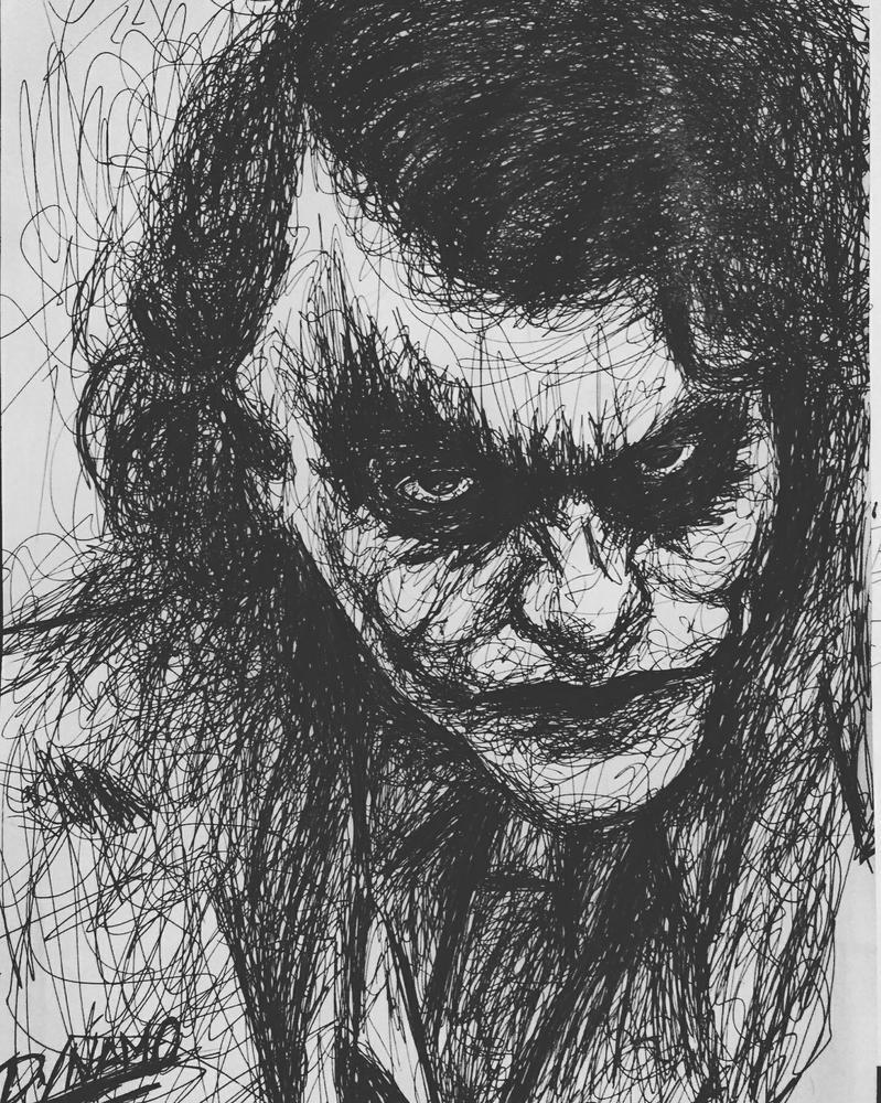 Joker by Dynamo-Debanjan