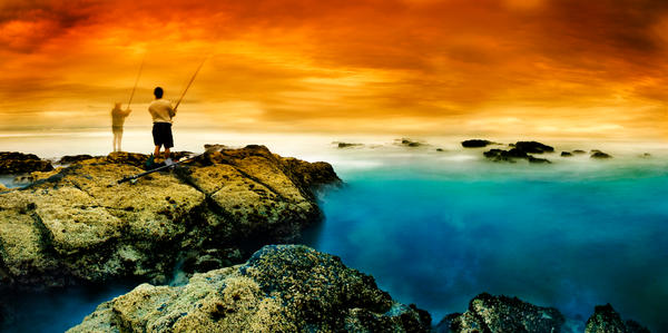 Fishing with The Deceased by hougaard