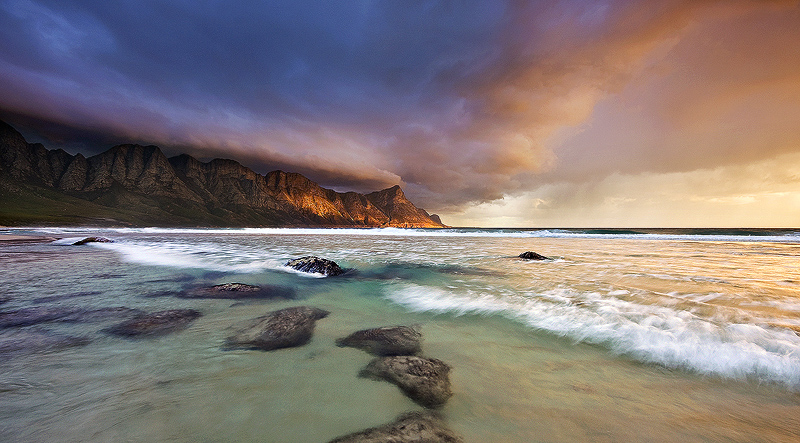 Final Light below the Storm II by hougaard