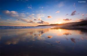 Wilderness beach by hougaard