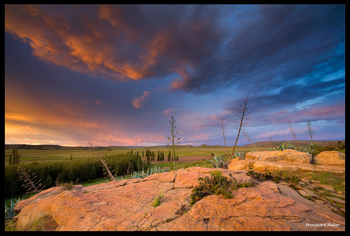 Stormberg Sunset by hougaard