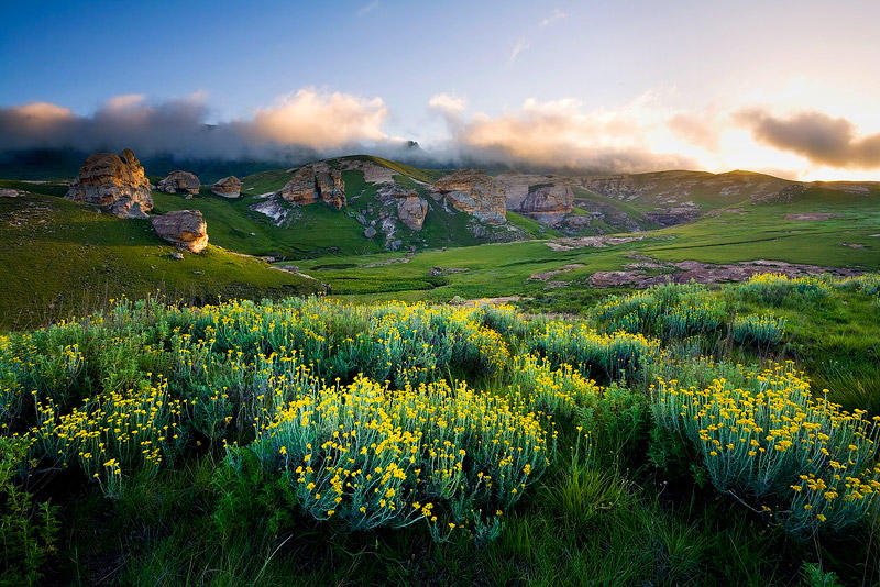 Maloti Pass : Reprocessed by hougaard
