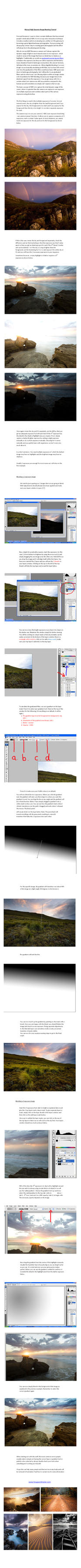 HDR tutorial - printable pdf by hougaard
