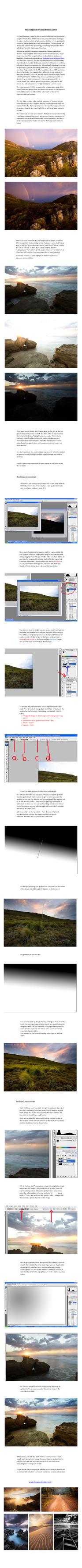 HDR tutorial - printable pdf by hougaard