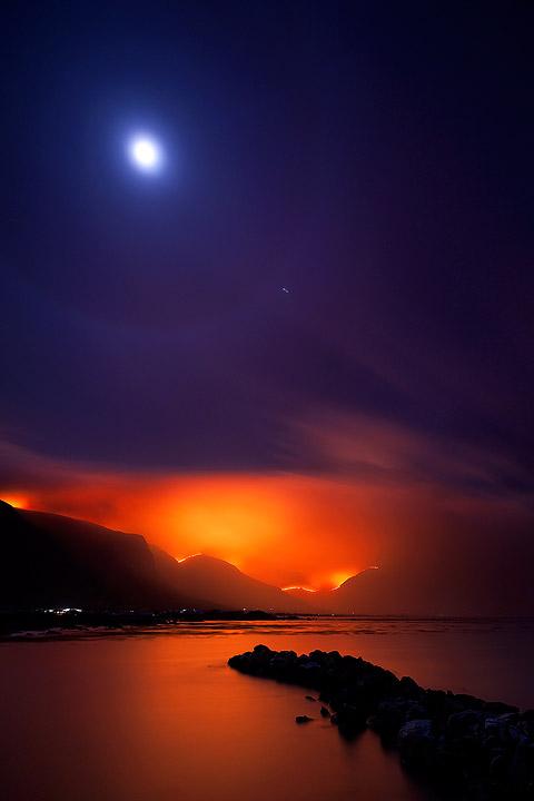 Moonlit Inferno
