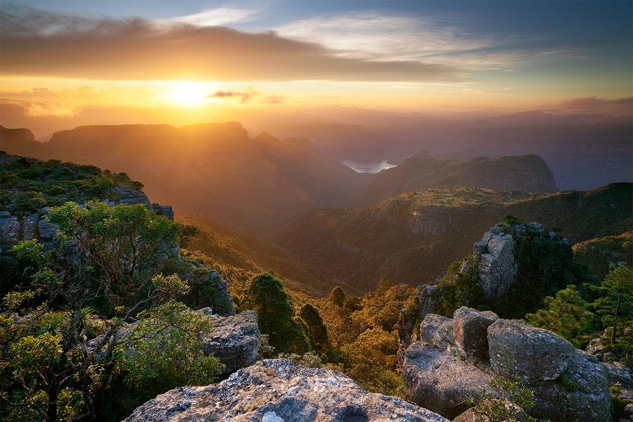 Mpumalanga Summer Sunset by hougaard