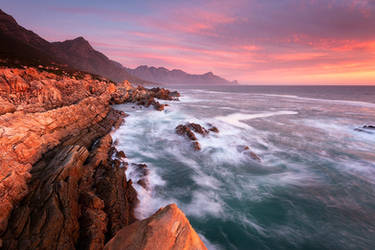 False Bay Spring Sunset