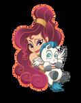 Meg and Baby Pegasus