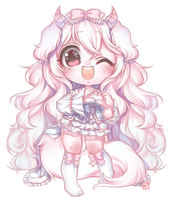 [+ Speedpaint] Cvddly-Adopts by milkat-sprout