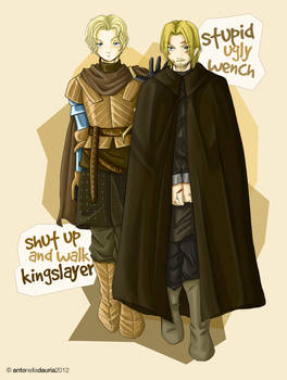 Jaime and Brienne: let the journey begin