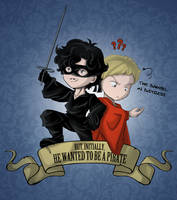 Sherlock: But, initially, he wanted to be a pirate by SleepingAnto
