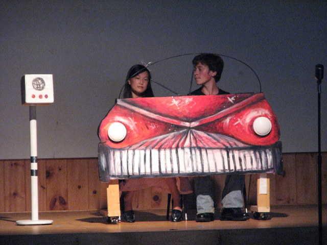 Grease- Car Front by ArtisticEric