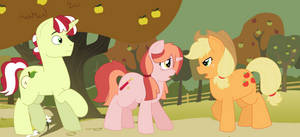 MLP: 'Maybe you don't think he can change, AJ,' by Strawberry-Spritz
