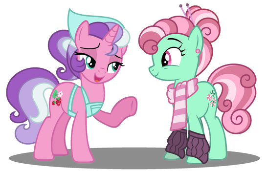 MLP: Spookberry's Moms have the Big Gay