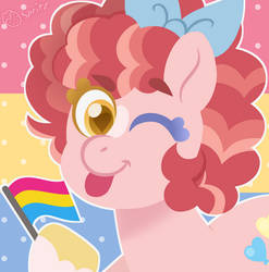 Happy Pan Visibility Day from Pankie Pie by Strawberry-Spritz