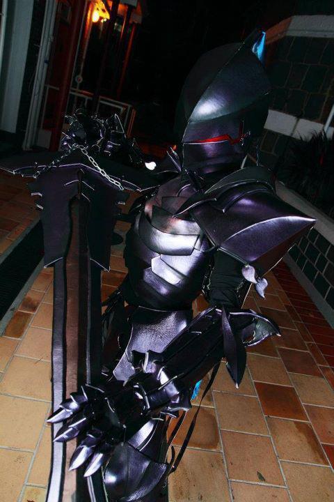 Fate Zero Berserker Lancelot Cosplay by ArhNZaii
