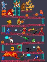 Video Game Battle 3 by Deimos-Remus