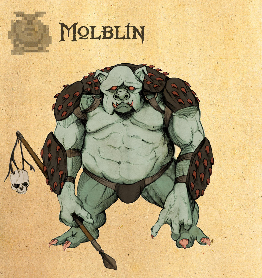 Cour Metrage Machinima leur video trop tripan haha - Page 3 Legend_of_Zelda__Molblin_by_Deimos_Remus