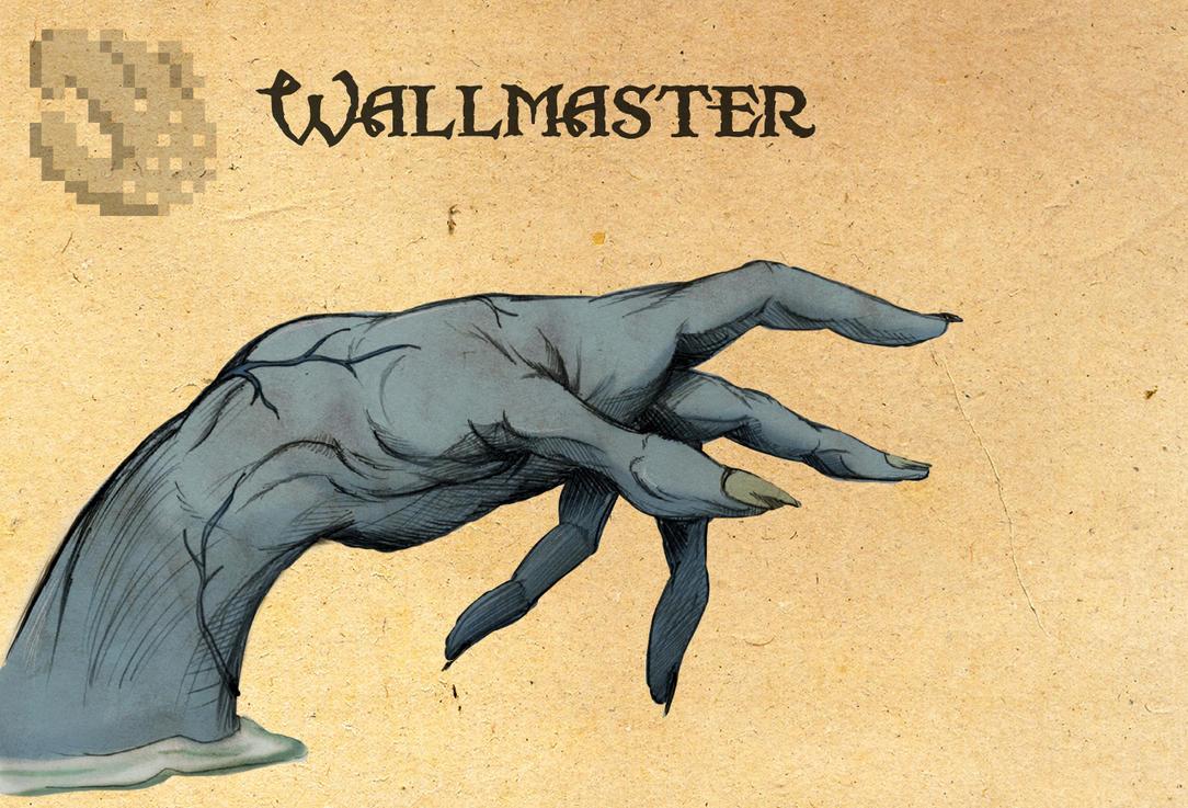 Legend of Zelda: Wallmaster by Deimos-Remus