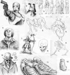 Sketchdump by Deimos-Remus