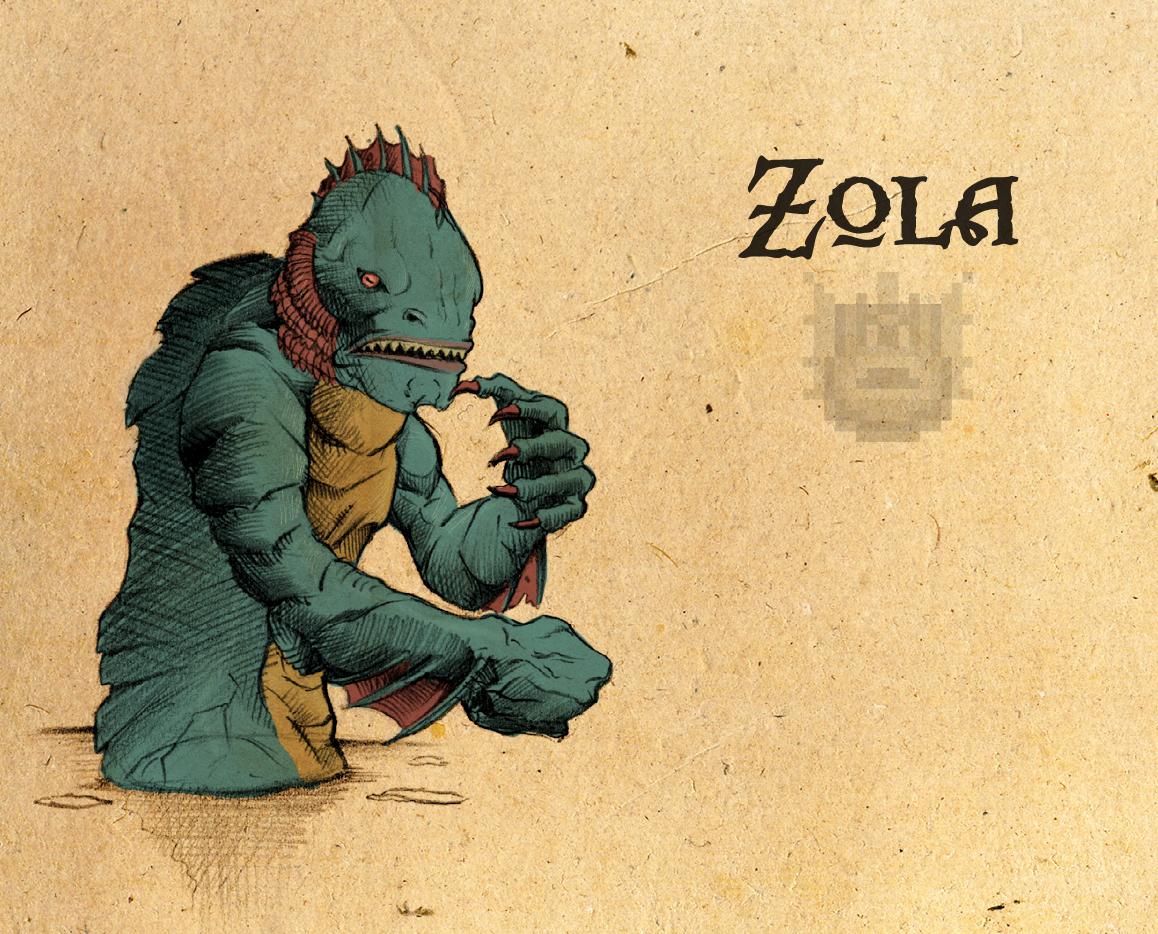 Legend of Zelda: Zola by Deimos-Remus