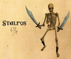 Legend of Zelda: Stalfos by Deimos-Remus