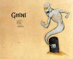 Legend of Zelda: Ghini by Deimos-Remus