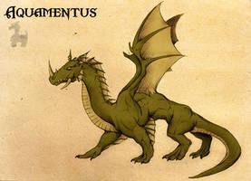 Legend of Zelda: Aquamentus by Deimos-Remus