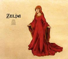 Legend of Zelda:Princess Zelda by Deimos-Remus