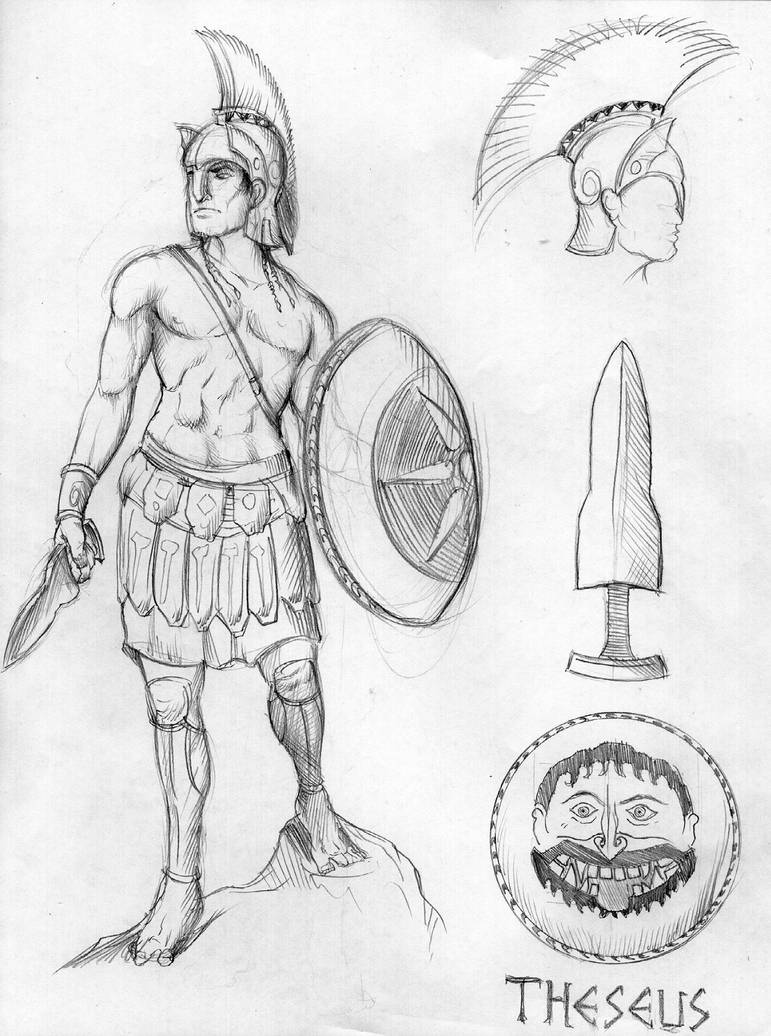 Senior Project Theseus By Deimos Remus On Deviantart
