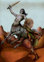 Battle at Death Mountain by Deimos-Remus