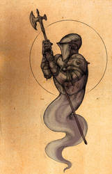 Ghosts n Goblins:Flying Knight by Deimos-Remus
