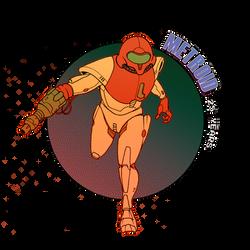 Metroid 25th anniversary by Deimos-Remus
