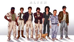 The Nostromo Crew