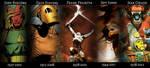 Favorite artists tribute by Deimos-Remus