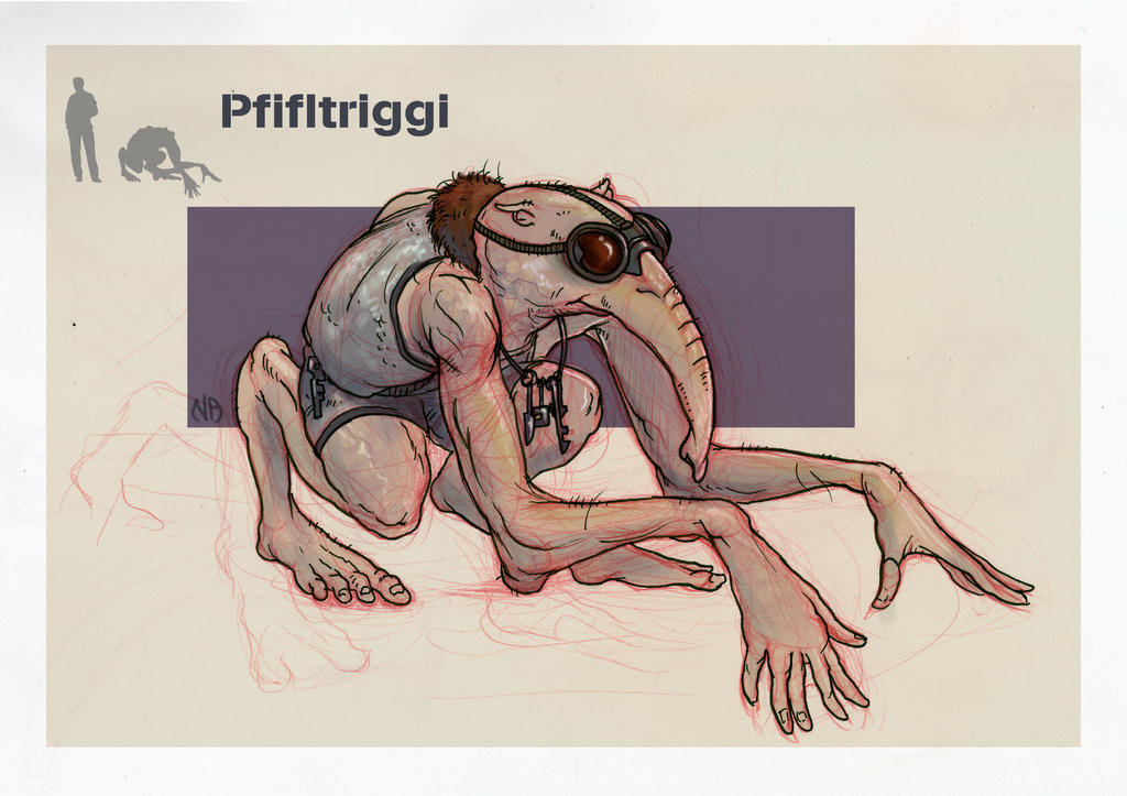The Species of Malacandra: The Pfifltriggi by Deimos-Remus