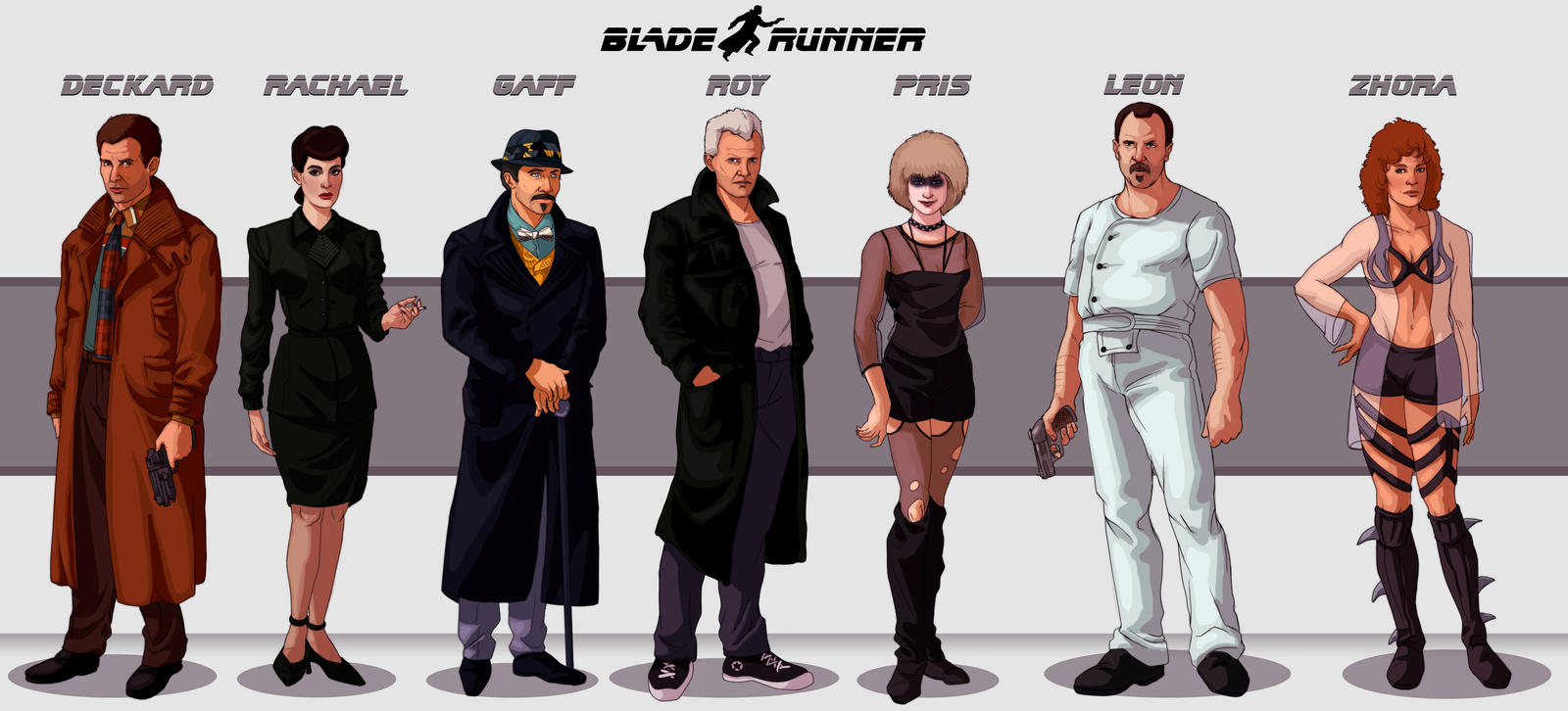 blade runner character notes This works as a great comic book adaption of the movie for younger readers for adults, it's a little like reading the cliffs notes for a book you already understand, but it's still a fun summary for fans of blade runner.
