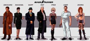 Blade Runner Lineup