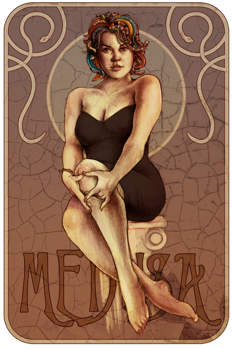 Modern Medusa by Deimos-Remus
