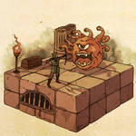 Dungeons and Dragons: Beholder Encounter