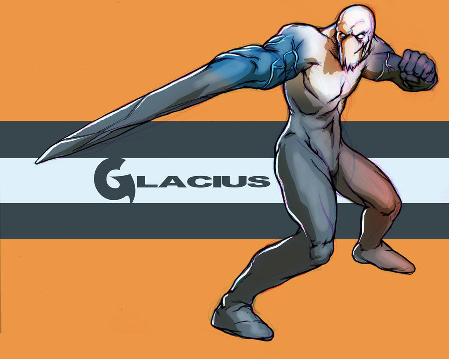 Killer Instinct tribute: Glacius by Deimos-Remus