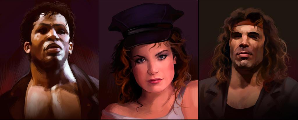 Pubg By Sodano On Deviantart: Final Fight Portraits Pt4 By Deimos-Remus On DeviantArt