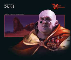 House Harkonnen: Baron Vladimir Harkonnen by Deimos-Remus