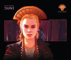 House Corrino: Princess Irulan Corrino by Deimos-Remus